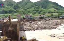 Mường La khắc phục hậu quả sau mưa lũ