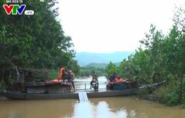 Quảng Nam: Nhiều khu vực huyện Nông Sơn bị chia cắt