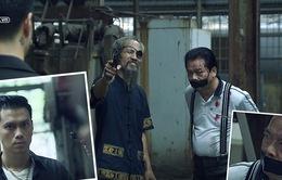 """Tập 39 phim Người phán xử: Thế """"chột"""" đập Kính """"trắng"""" tơi tả, quyết giết Phan Hải lần 2"""