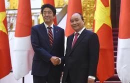 Hai Thủ tướng Việt Nam và Nhật Bản nhất trí cao phương hướng phát triển toàn diện quan hệ đối tác chiến lược
