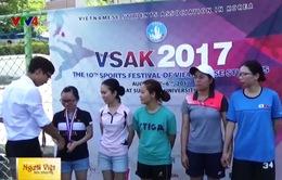 Sôi nổi Đại hội Thể thao sinh viên Việt Nam tại Hàn Quốc