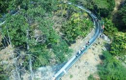 Cảnh báo du khách bị lạc khi leo núi Bà Đen, Tây Ninh