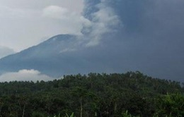 Indonesia: Hàng chục chuyến bay bị hủy do núi lửa Agung tiếp tục phun khói bụi