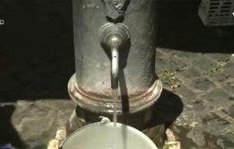 Hạn hán đe dọa các đài phun nước tại thành phố Rome