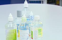 Bát nháo thị trường nước muối sinh lý
