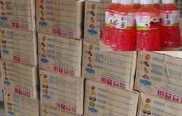 Hà Tĩnh thu giữ 7.200 chai nước ngọt không rõ nguồn gốc