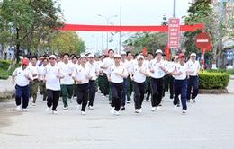 Ngày chạy Olympic vì sức khỏe toàn dân tại huyện A Lưới, tỉnh Thừa Thiên Huế