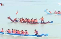 Sôi động lễ hội đua thuyền đầm Ô Loan, Phú Yên