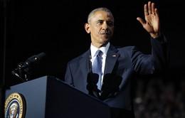 Ông Obama bảo vệ thành tựu 8 năm cầm quyền trong diễn văn từ biệt