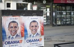 48.000 chữ ký ủng hộ ông Barack Obama tranh cử Tổng thống Pháp