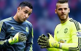Keylor Navas quyết bám trụ Real Madrid, mặc tin đồn về De Gea