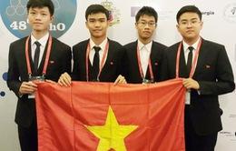 Việt Nam có 4 học sinh dự thi Olympic Hóa học Quốc tế năm 2017