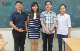 4 học sinh xuất sắc nhất sẽ dự thi Olympic Sinh học Quốc tế năm 2017