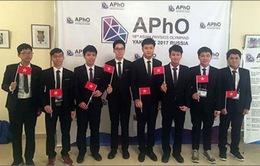7 thí sinh Việt Nam giành giải thưởng Olympic Vật lý châu Á 2017