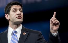 Ông Paul Ryan tái đắc cử Chủ tịch Hạ viện Mỹ khóa 115