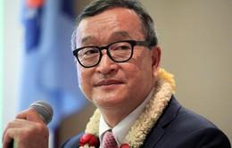 Campuchia xóa lệnh cấm ông Sam Rainsy về nước