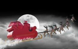 Theo dõi hành trình của ông già Noel bằng... radar