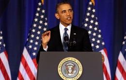 Hôm nay, Tổng thống Mỹ Barack Obama phát biểu từ biệt