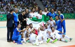 Ngày thi đấu thứ 10 AIMAG 2017: Thắng đậm Uzbekistan, ĐT futsal Iran giành HCV