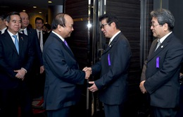 Thủ tướng tiếp Thống đốc tỉnh Osaka