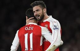 """Swansea - Arsenal: Ozil trở lại """"tiếp đạn"""" Giroud (22h00 ngày 14/1)"""