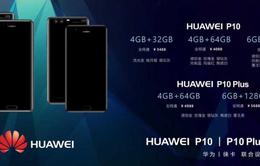"""Huawei P10 và P10 Plus rò rỉ thông số cùng mức giá """"khủng"""""""