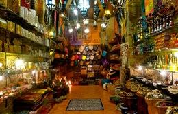 Độc đáo chợ cổ xứ Arab
