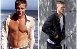 Bất ngờ với ngoại hình già nua của Brad Pitt sau ly hôn