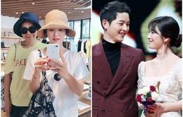 """Fan """"bấn loạn"""" với hình ảnh đầu tiên của Song Hye Kyo sau tuyên bố kết hôn Song Joong Ki"""