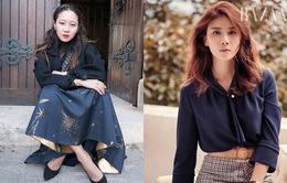 Gong Hyo Jin cá tính, Lee Bo Young đẹp dịu dàng trên Bazaar