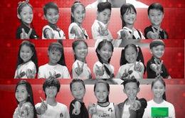 Đây chính là 18 thí sinh Giọng hát Việt nhí sẽ tranh tài ở vòng Loại trực tiếp