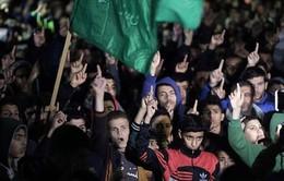 Người dân Palestine phản đối quyết định của Tổng thống Mỹ về Jerusalem
