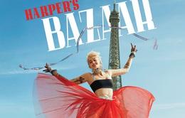 Con gái Michael Jackson lên trang bìa Harper's Bazaar, tung váy trước tháp Eiffel