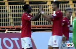 Đá bù vòng 9 V.League 2017: XSKT Cần Thơ 1-1 Than Quảng Ninh: Chia điểm đáng tiếc
