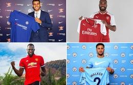 Tổng hợp toàn bộ chuyển nhượng Hè 2017 của 20 đội bóng Ngoại hạng Anh