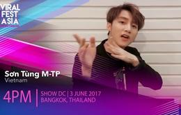 """Sơn Tùng M-TP tự tin """"bắn"""" tiếng Anh như gió"""