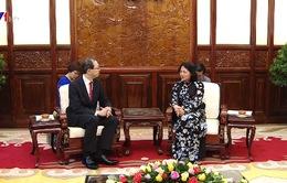 Phó Chủ tịch nước tiếp Thống đốc tỉnh Fukushima Nhật Bản