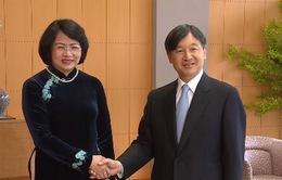 Các hoạt động của Phó Chủ tịch nước tại Nhật Bản
