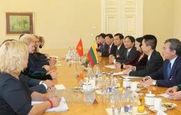 Phó Chủ tịch nước hội đàm Tổng thống Lithuania