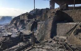 Di tích 2.000 năm tuổi ở Peru bị hỏa hoạn: Do công nhân đốt cánh đồng mía
