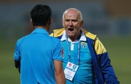 Giải VĐQG V.League 2017: VFF đưa ra án phạt với HLV Petrovic