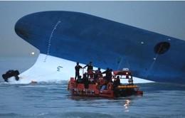 Hàn Quốc chuẩn bị trục vớt phà Sewol để tìm kiếm 9 thi thể cuối cùng