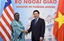 Việt Nam và Liberia phấn đấu nâng kim ngạch thương mại song phương lên 100 triệu USD