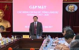 Đồng chí Phạm Minh Chính gặp mặt các Đại sứ, Tổng Lãnh sự