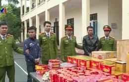 Phú Thọ bắt vụ vận chuyển trên 100kg pháo nổ