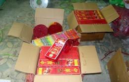 Hà Tĩnh bắt giữ 2 vụ buôn bán pháo nổ trái phép
