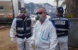 Israel: Cháy nhà máy pháo hoa, hai người thiệt mạng
