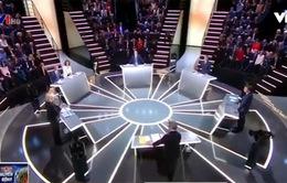 Phản ứng người dân Pháp sau cuộc tranh luận giữa các ứng viên Tổng thống