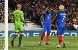Kết quả vòng loại World Cup 2018 khu vực châu Âu sáng 04/9: ĐT Pháp bất ngờ bị cầm hòa, ĐT Bỉ chắc suất đi tiếp