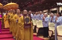 Hàng nghìn tăng ni, phật tử dự Đại lễ Phật đản năm 2017 tại chùa Bái Đính